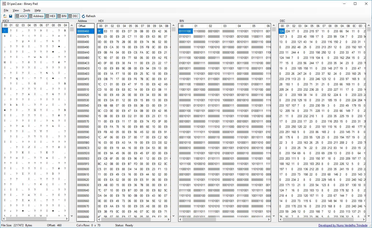 Binary Pad