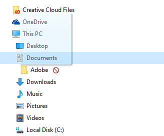 File Explorer drag and drop problems